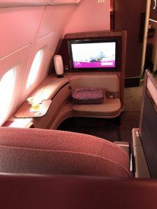First Class im A380