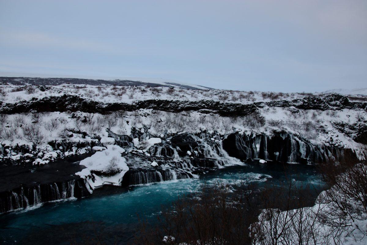 Island im Januar 2018