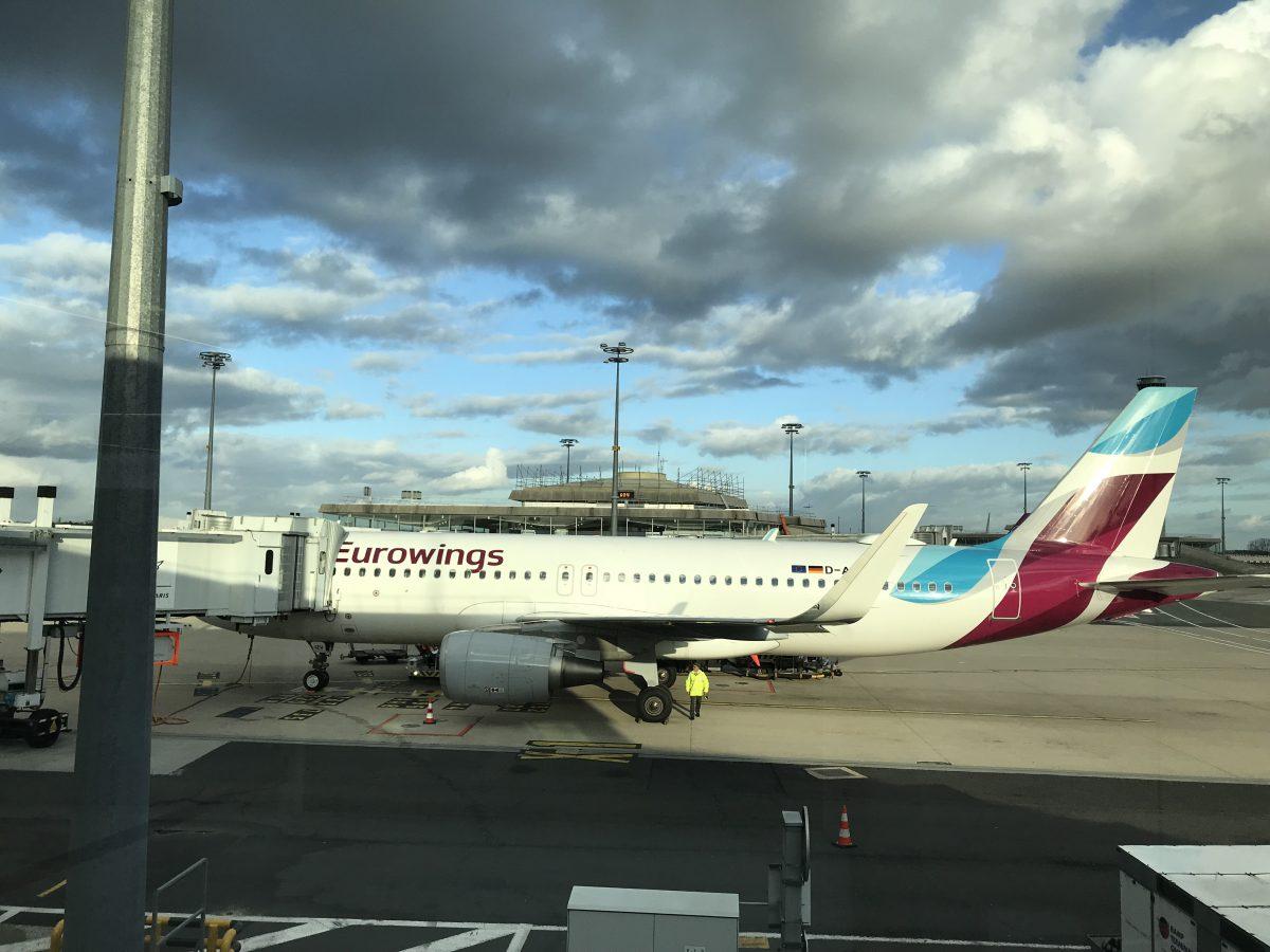 Eurowings von Paris nach Düsseldorf im A320 – Best Tarif