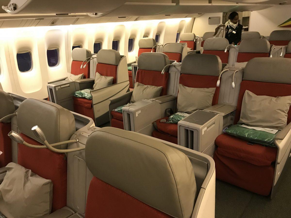 Ethiopian Airlines – Business Class Flug von Brüssel nach Wien