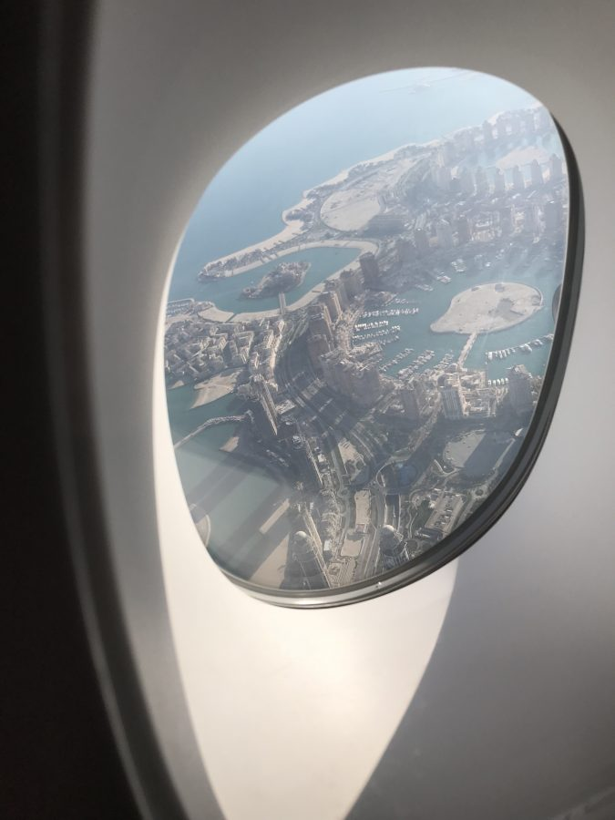 Doha Katar The Pearl - künstliche Insel