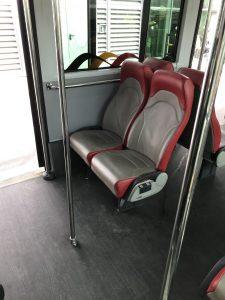 Bus zum Flugzeug