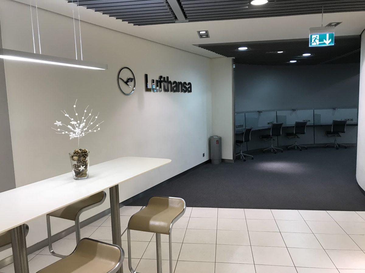 Lufthansa Business Lounge in Paris Terminal 1