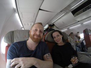 Business Class Flug auf die Seychellen