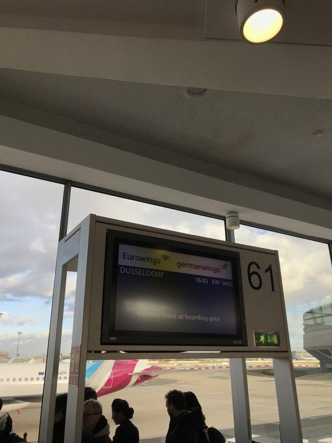 Eurowings von Paris nach Düsseldorf