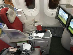Ethiopian Airlines Business Class von Addis Abeba nach Brüssel über Mailand