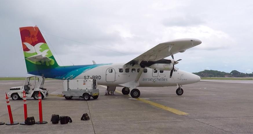 Air Seychelles – Inlandsflug von Mahé nach Praslin