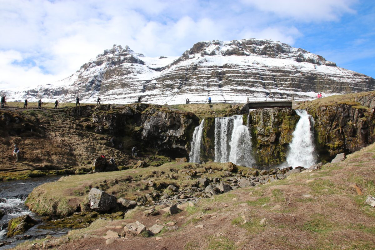 Kirkjefellfoss auf der Halbinsel Snæfellsnes - Island für Einsteiger - Unser persönlicher Island Guide