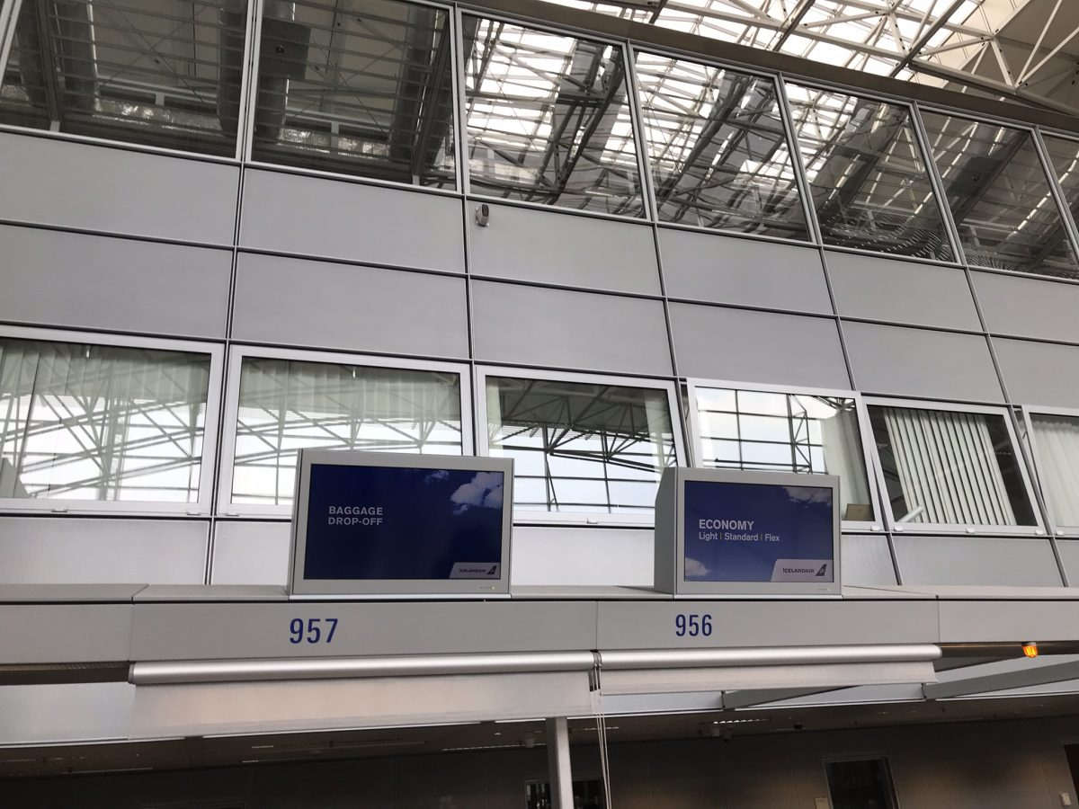 Economy Class XL Seat mit Icelandair