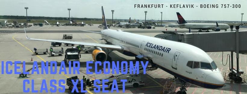 Frankfurt nach Keflavik – Economy Class XL Seat mit Icelandair