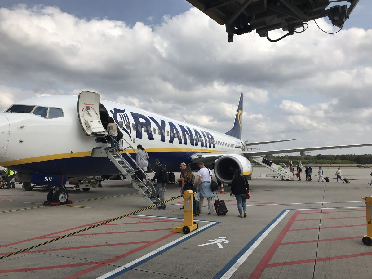 Mit Laudamotion von Köln/Bonn nach Palma de Mallorca