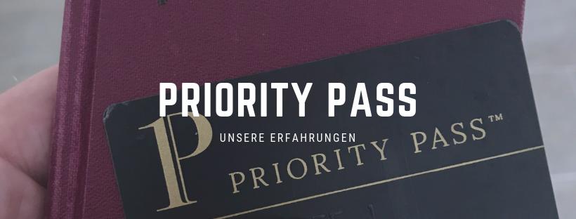 Erfahrungen mit dem Priority Pass