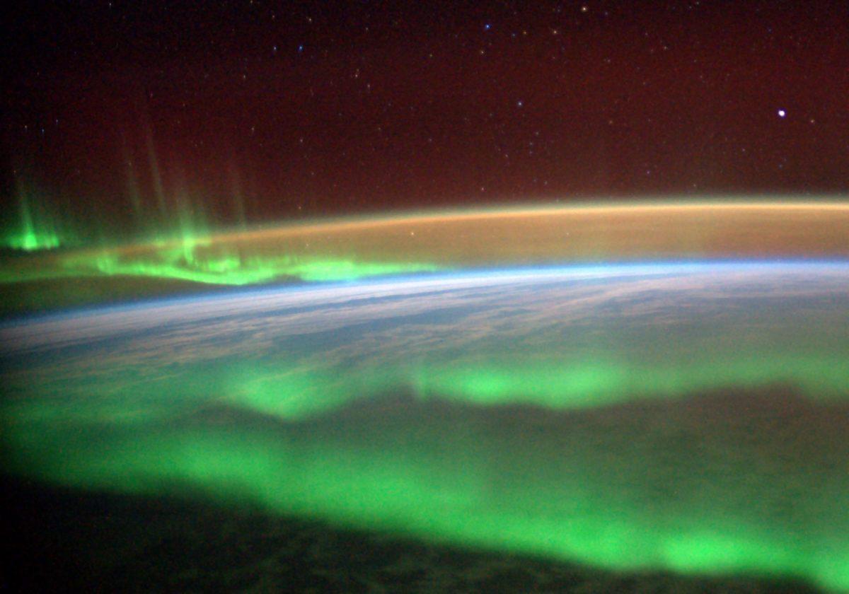 Quelle @ESA/NASA-A.Gerst.