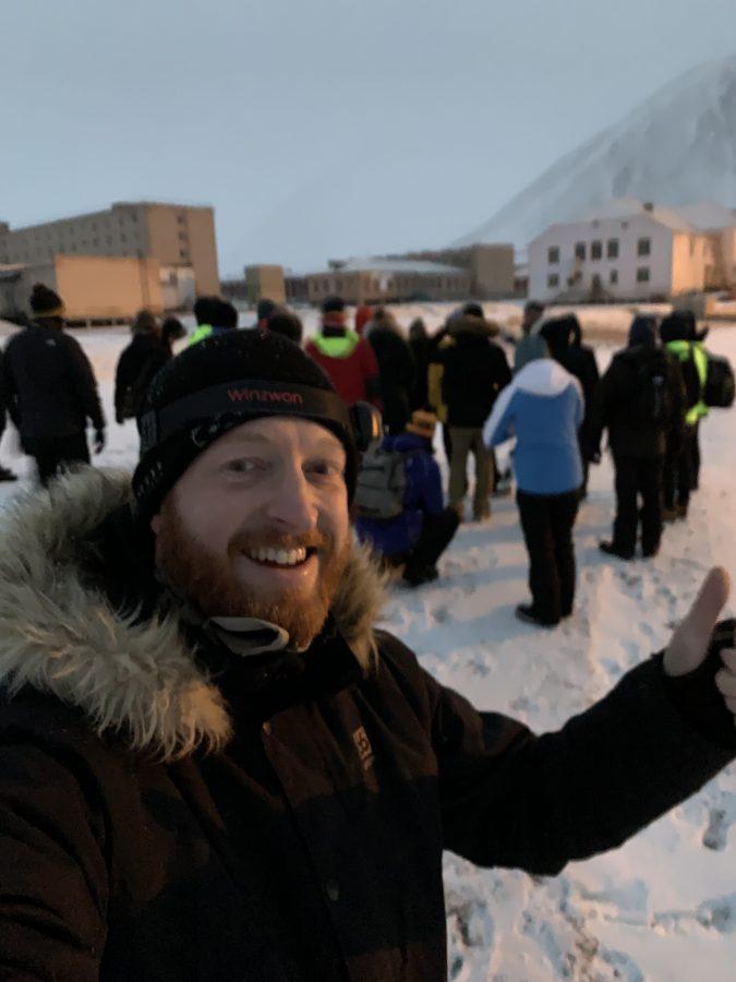 Ausflug in Spitzbergen nach Pyramiden. Die Geisterstadt.