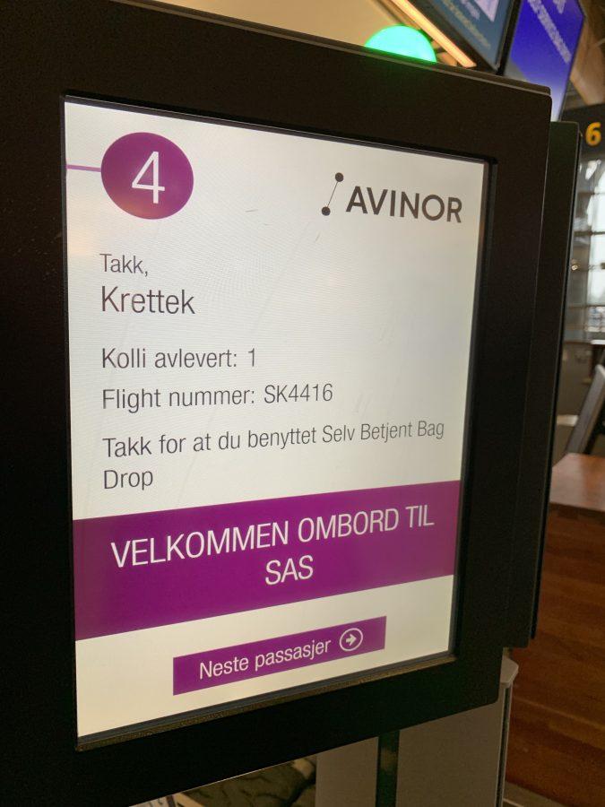 Lufthansa Business Class von Frankfurt nach Oslo