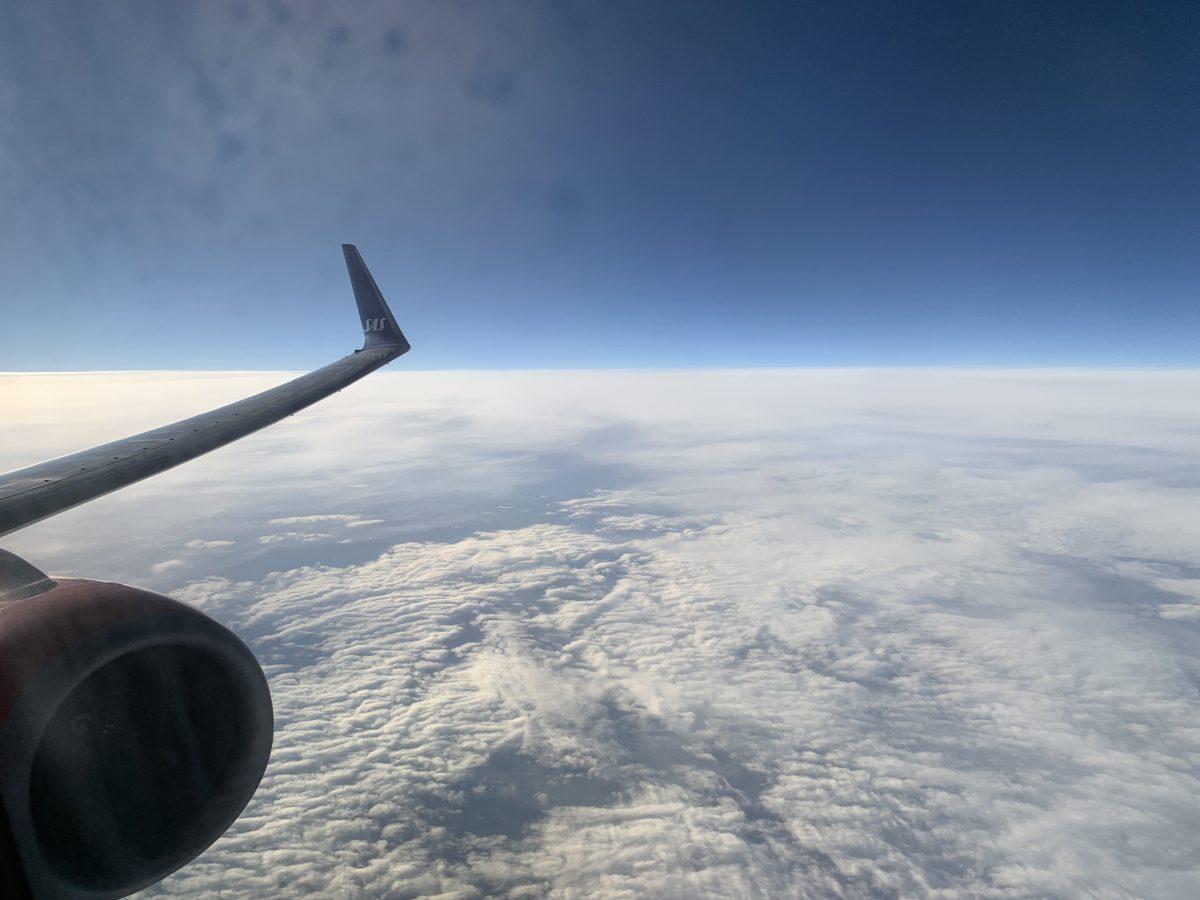 Von Oslo nach Tromsø in der SAS Plus