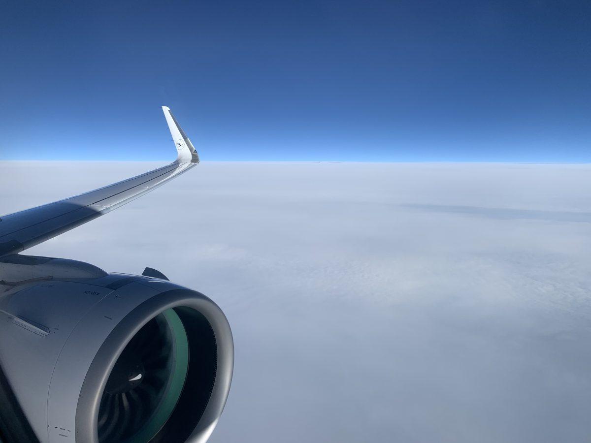 A320neo in der Lufthansa Business Class