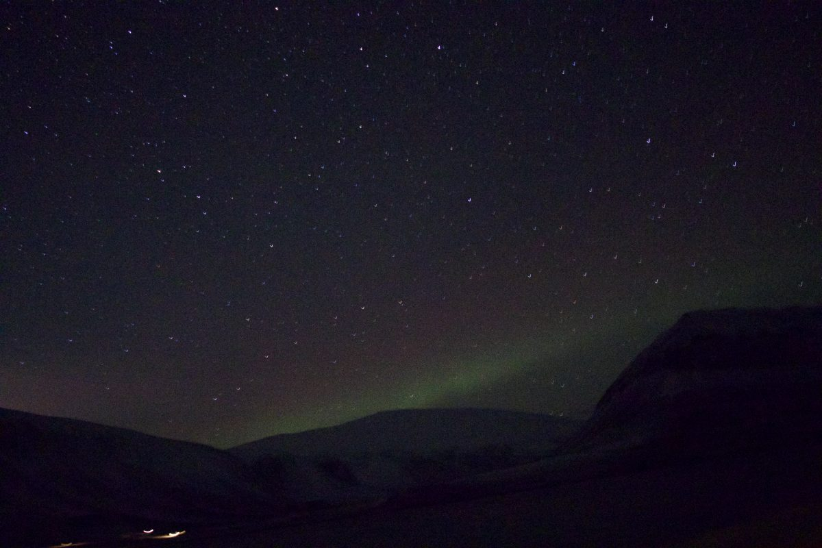 Northern Lights Polar Night
