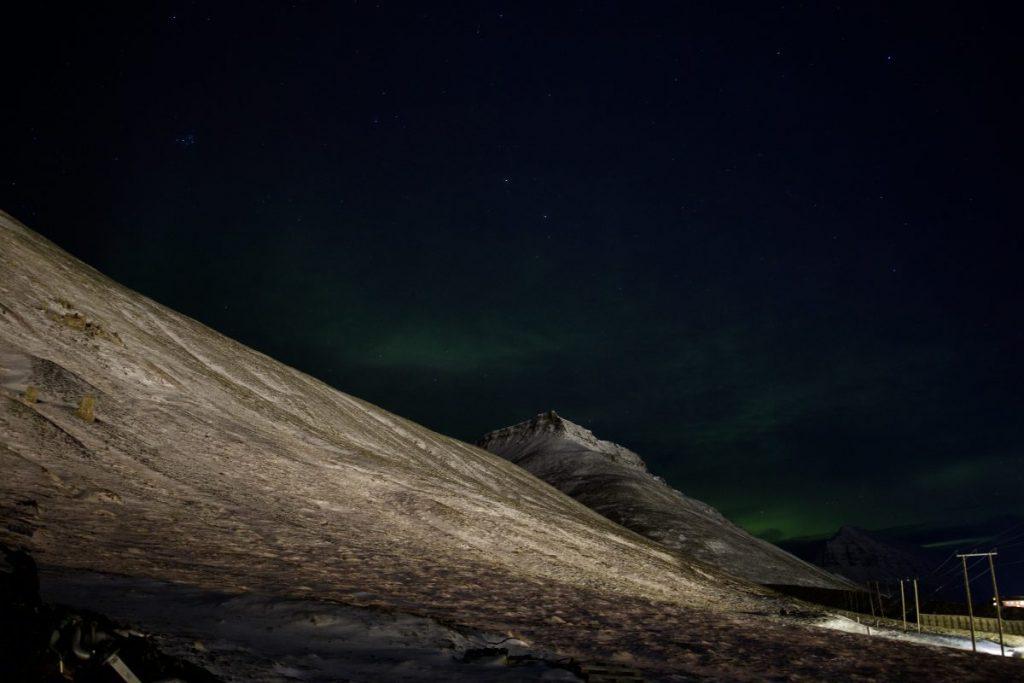 Nordlichter in Longyearbyen - Spitzbergen