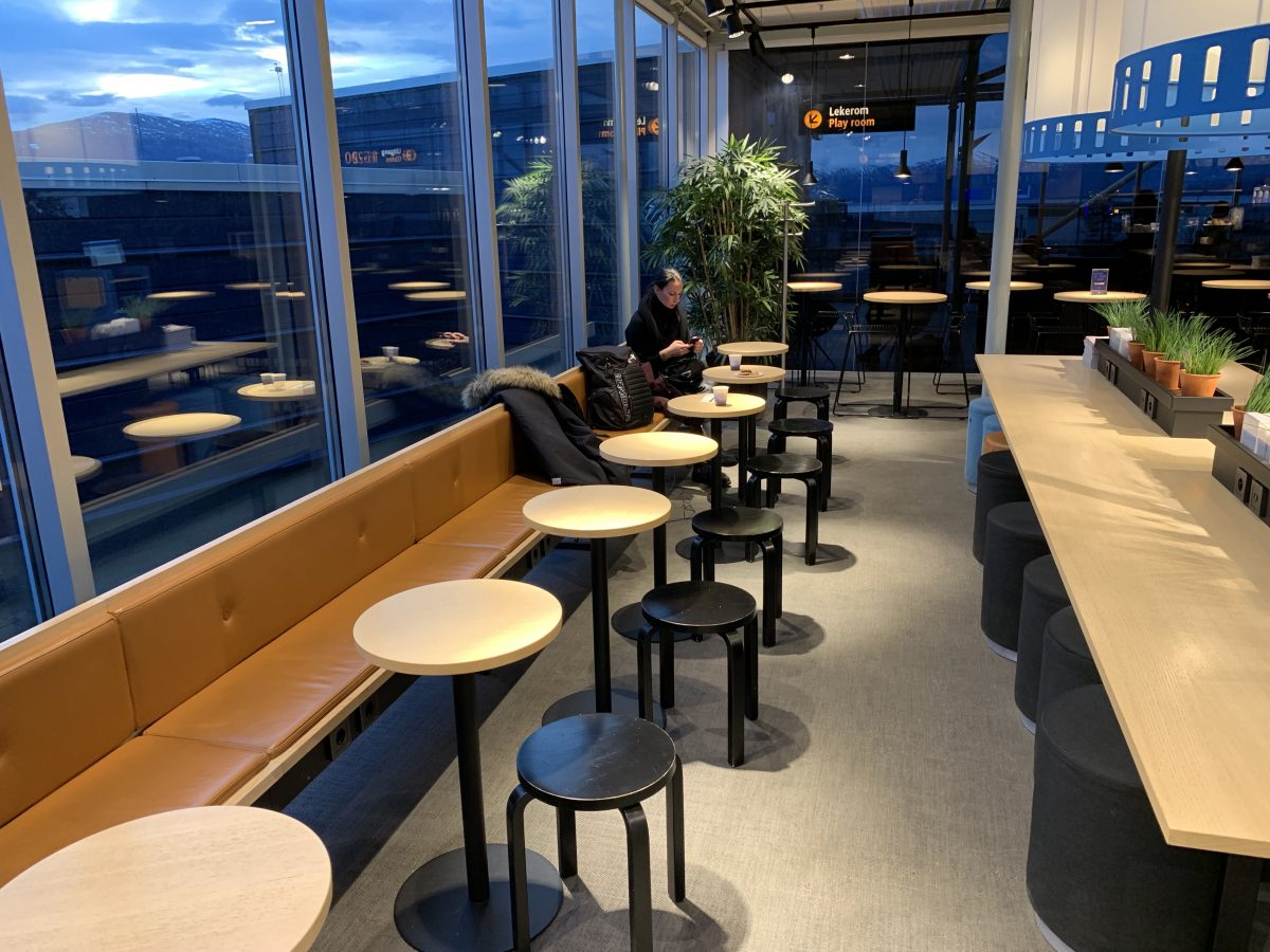 SAS Cafe Lounge in Tromsø