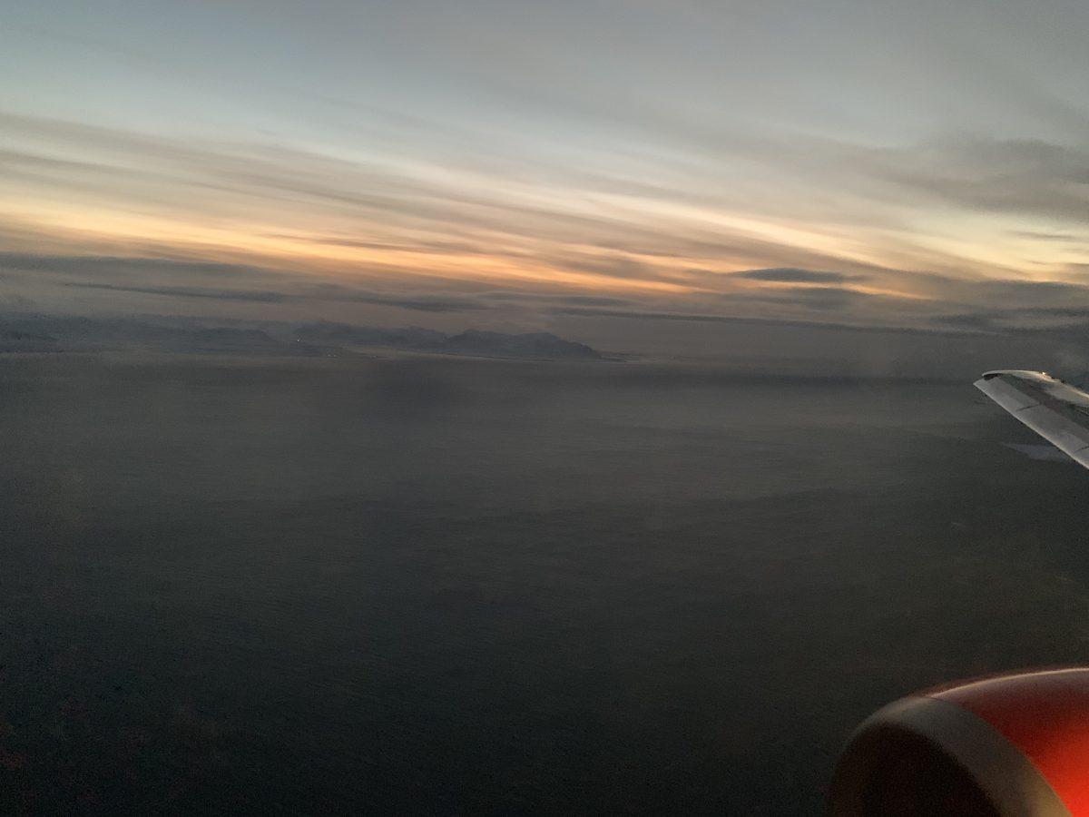 Flug in die Arktis. Mit SAS von Tromsø nach Spitzbergen