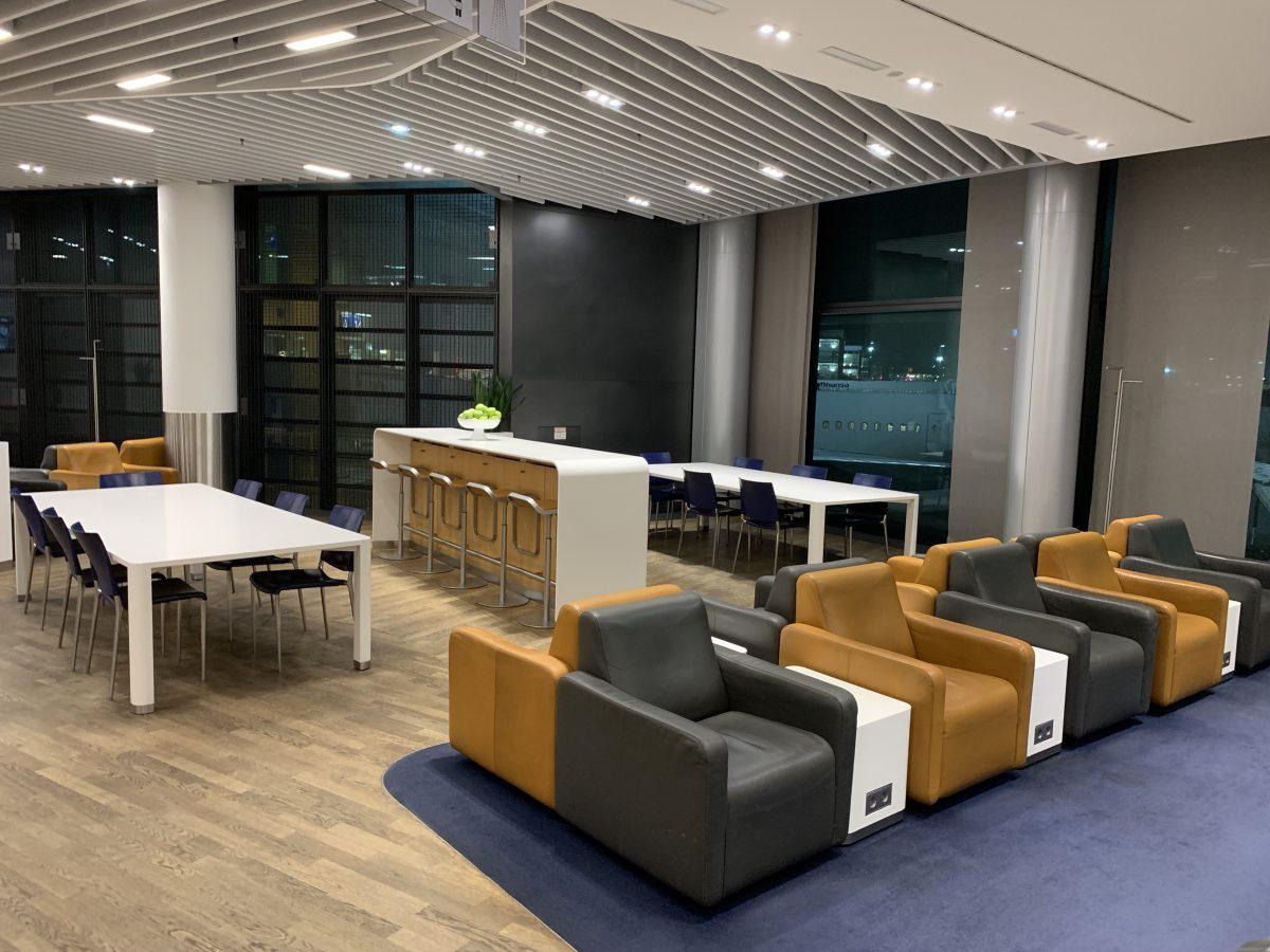 Lufthansa Business Lounge in Frankfurt T1 - Bereich A