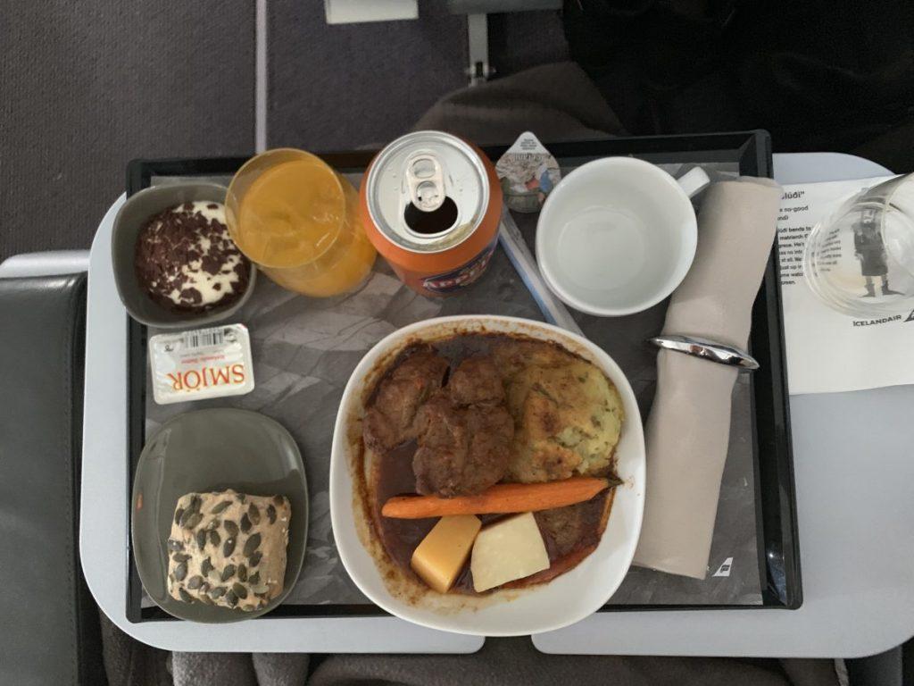 Icelandair Saga Class nach Island
