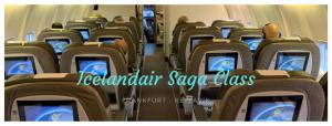 Icelandair Saga Class Business Class nach Island - Titel