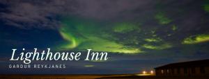 Nordlichter in Gardur - Reykjanes Lighthouse Inn Titel