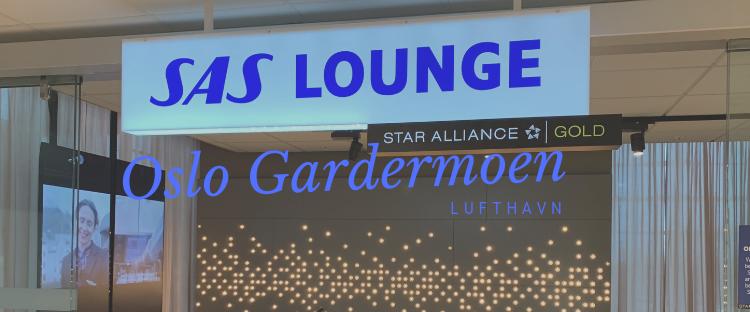SAS Lounge in Oslo