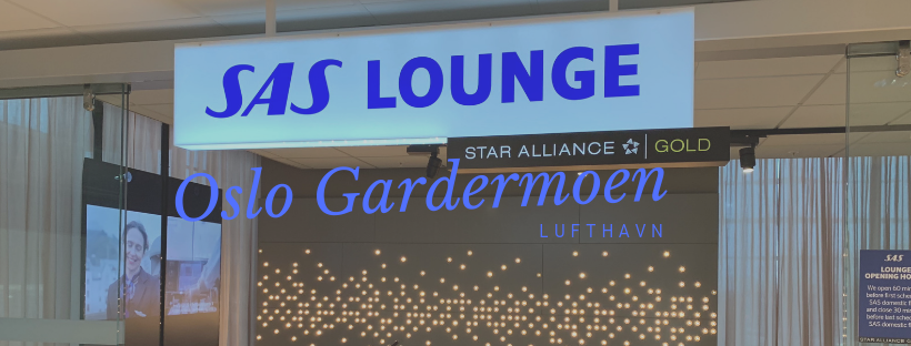 SAS Lounge in Oslo