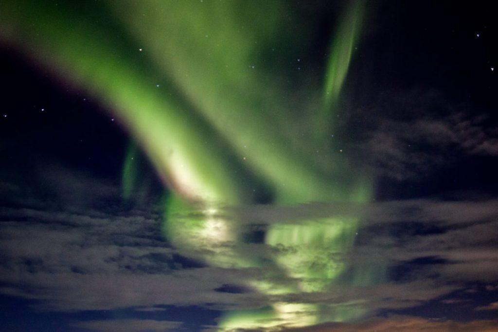 Nordlichter in Reykjanes - Gardur