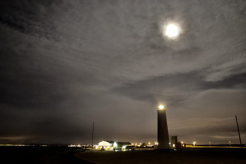 Nordlichter in Reykjanes - Garður