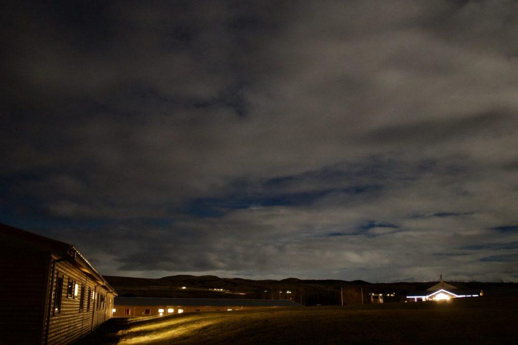 Nordlichter am Hotel Eyjafjallajökull