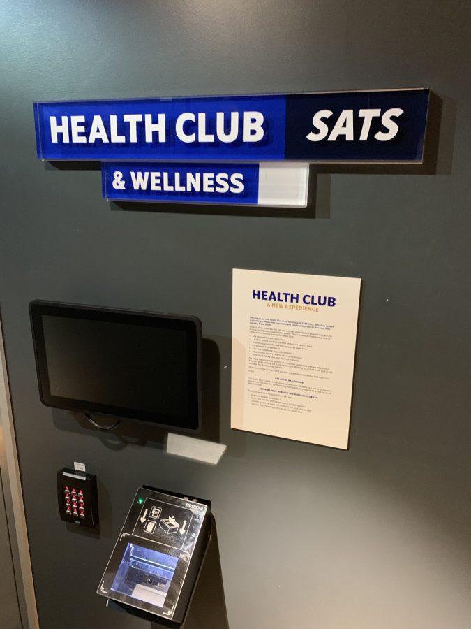 Fitnesscenter in der Lounge