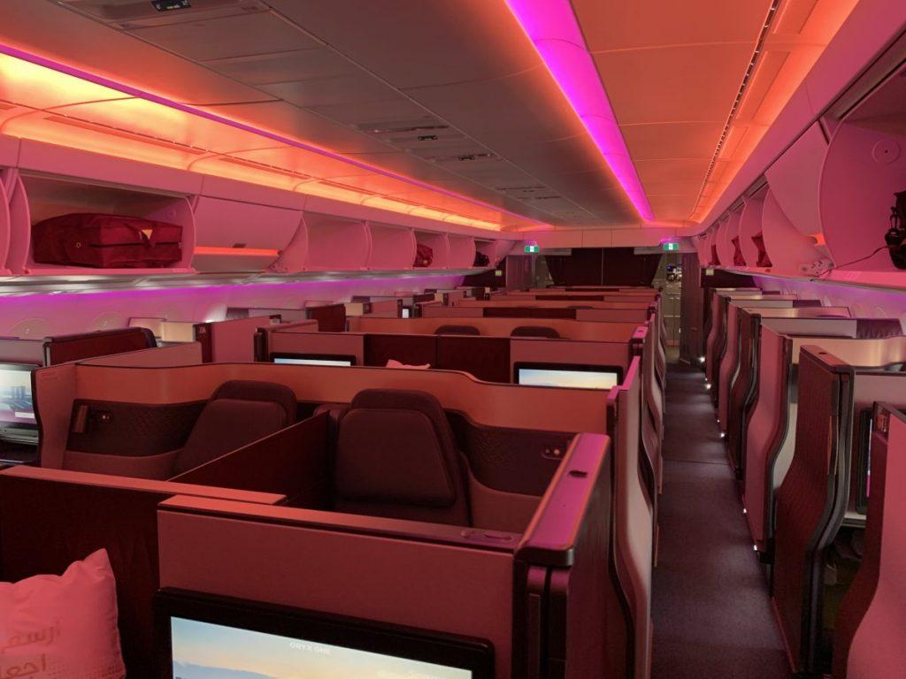 QSuite First in Business Qatar Airways Vergleich B777 A350
