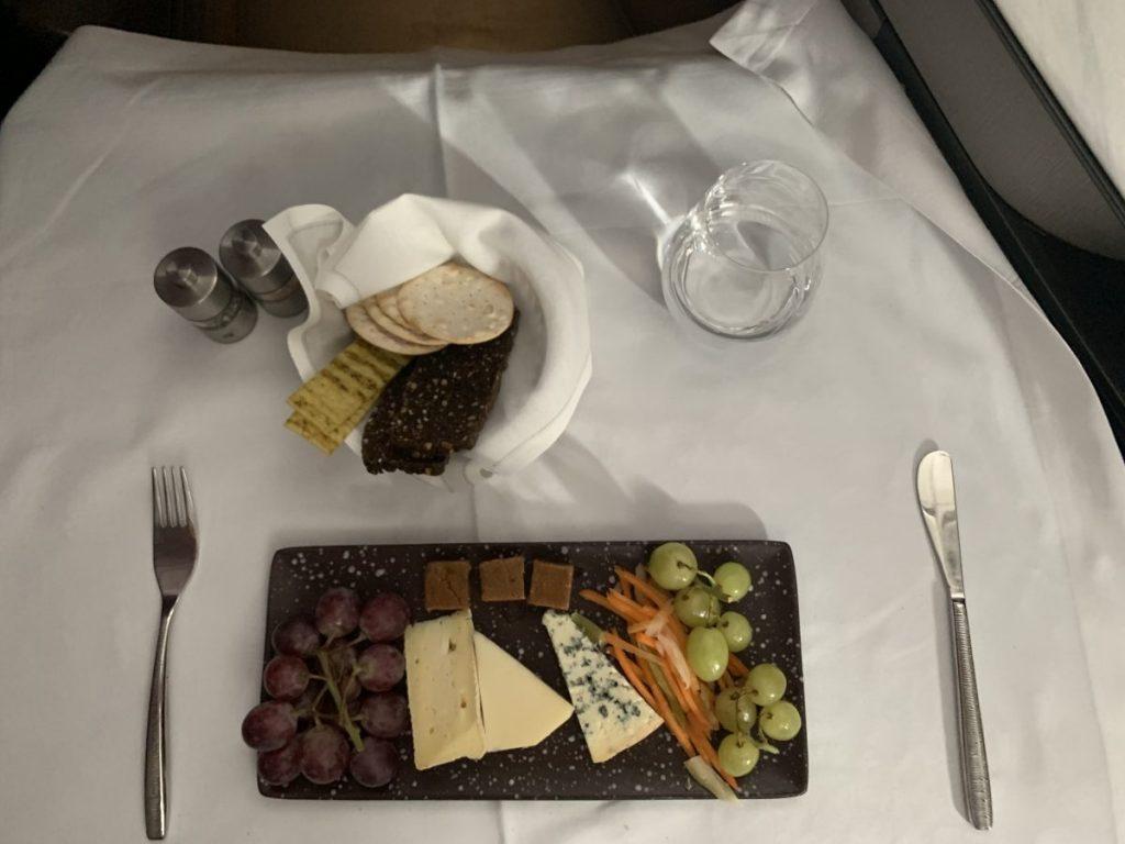 QSuite von Qatar Airways von Doha nach Singapur im A350-1000