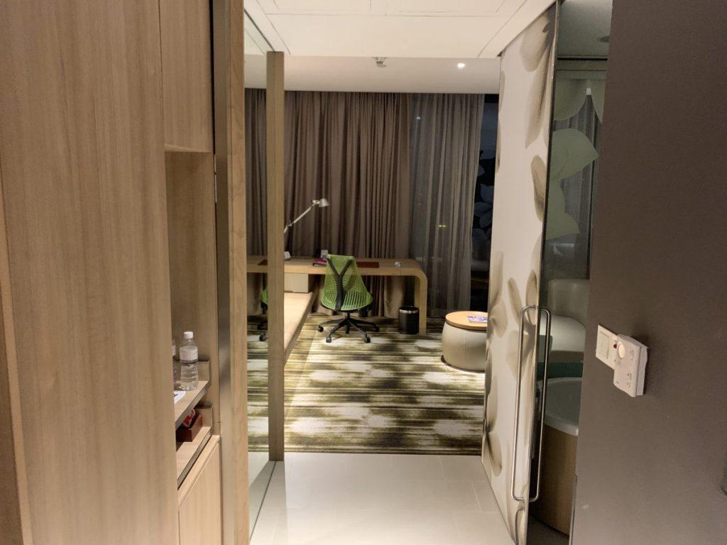 Das Crowne Plaza Changi Airport Hotel