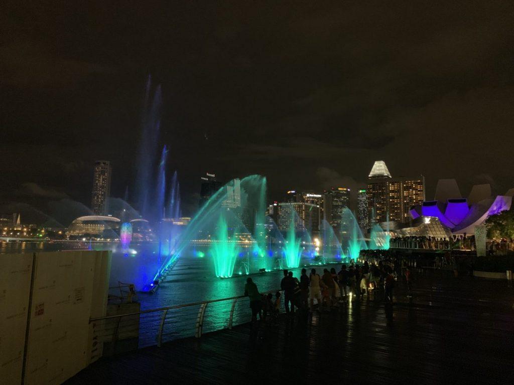 Singapur Flussrundfahrt bei Nacht