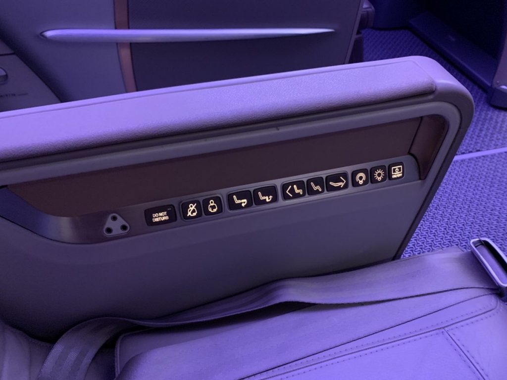 Singapore Airlines Business Class im A350
