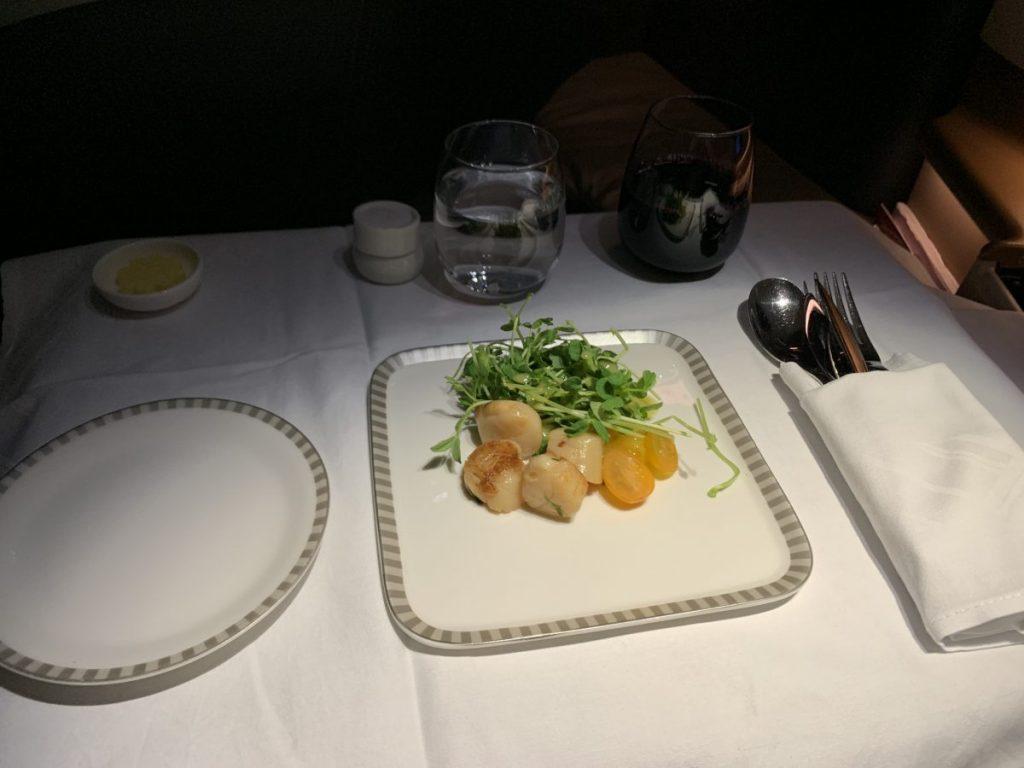 Singapore Airlines Business Class im A350 nach Milan