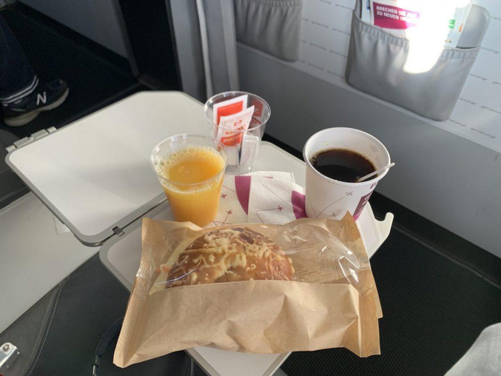 In der BIZ Class von Milan nach Köln/Bonn