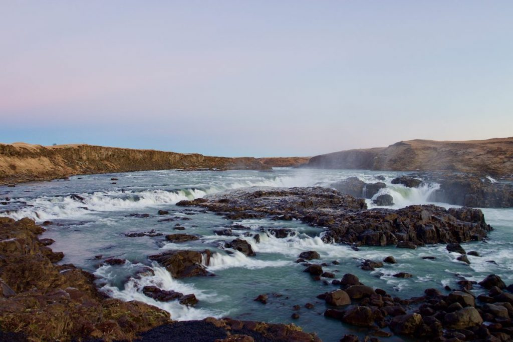 Urridafoss bei Selfoss in Island - TOP Highlights in Island -Golden Circle und Südküste-