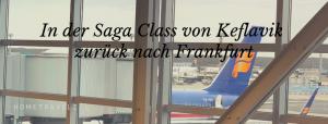 Icelandair 757-300 Rückflug nach Frankfurt - Titel