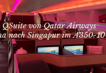 Qatar Airways A350-1000 Business Class Titel