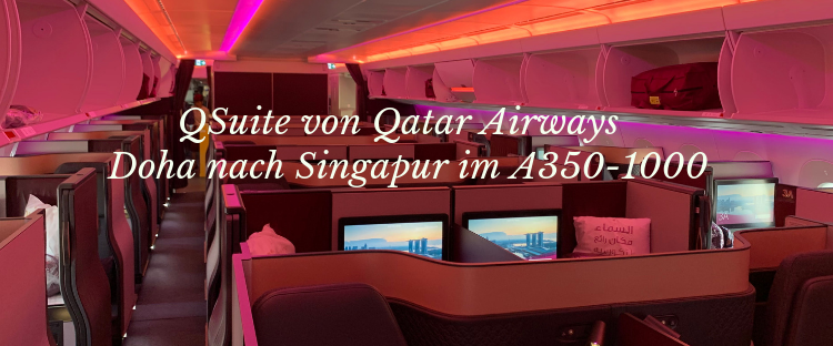Qatar Airways A350-1000 Business Class Titel