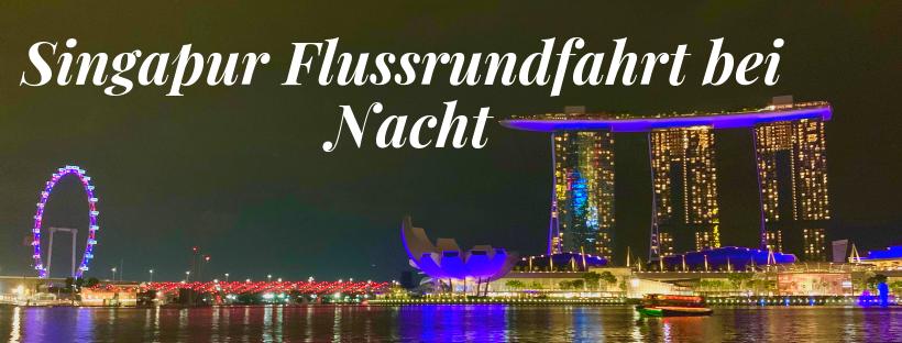 Singapore River - Flussrundfahrt - Titel