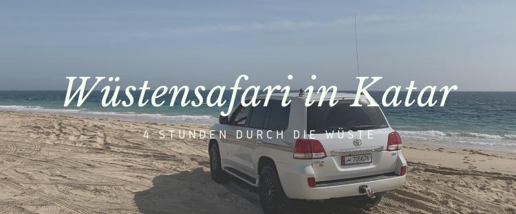 Qatar International Adventure Wüstensafari Katar Titel