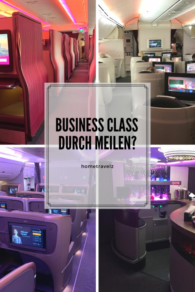 Business Class durch Meilen?
