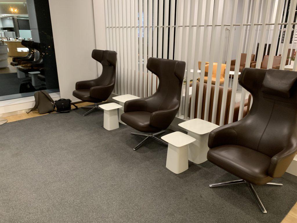 Lufthansa Lounge in Mailand